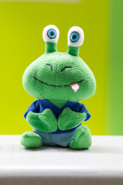 Deko-Frosch